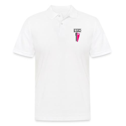 ESID Zwart-roze - Mannen poloshirt