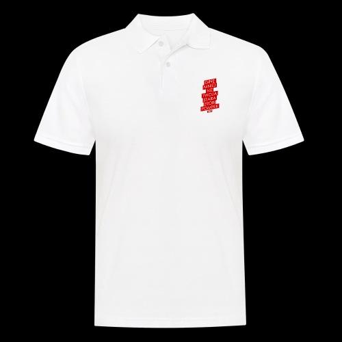 gine mniej - Koszulka polo męska