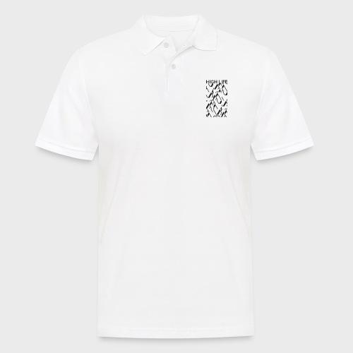 Mow - High Life (ZEBRA Schwarz) - Männer Poloshirt