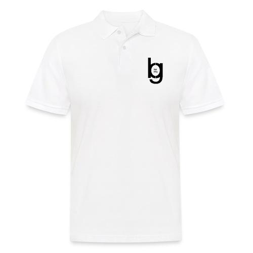 bigi logo black - Männer Poloshirt