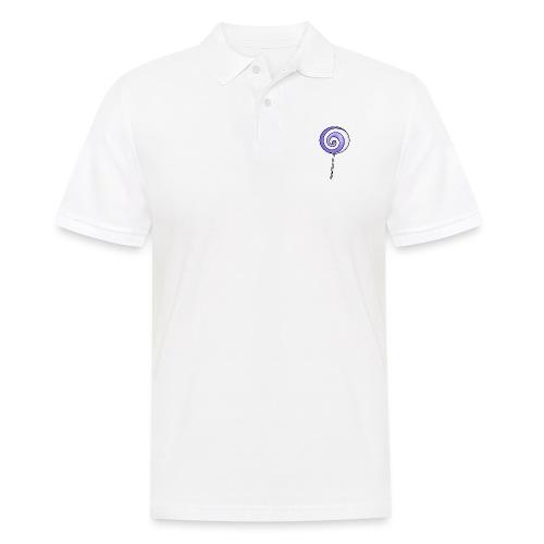 geringelter Lollipop - Männer Poloshirt