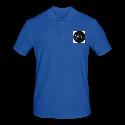 black/white texture - Men's Polo Shirt