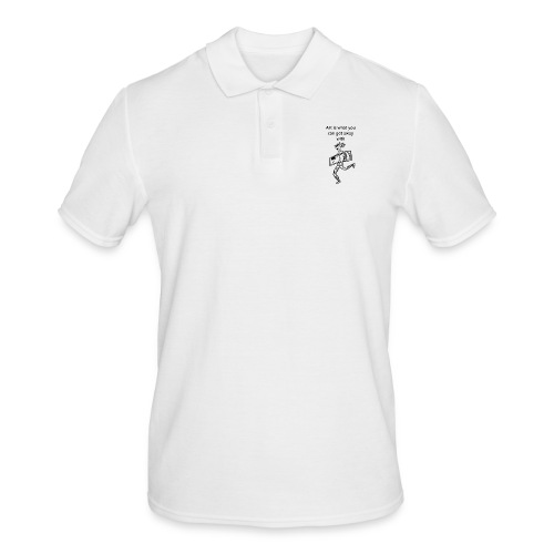 art is what you can get away with - Men's Polo Shirt
