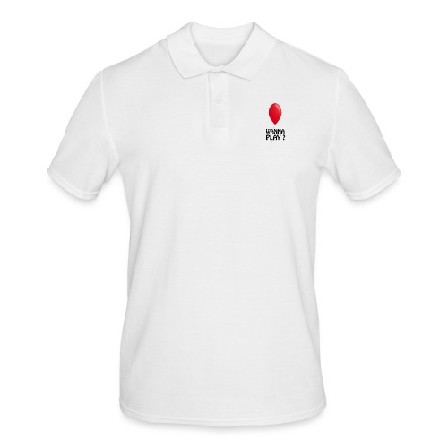 Wanna Play ? - Männer Poloshirt