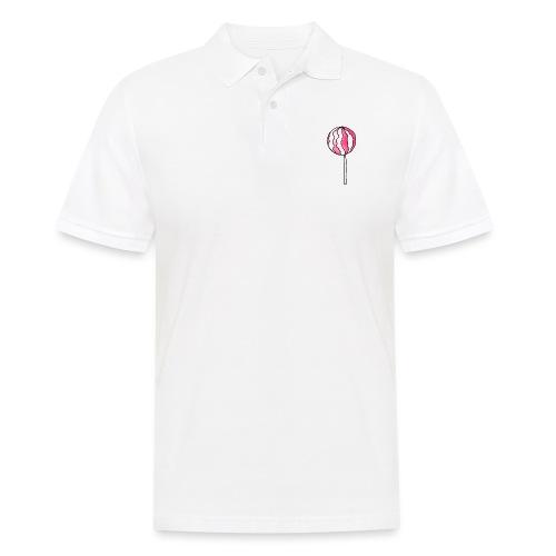 Lollipop Erdbeer-Sahne - Männer Poloshirt