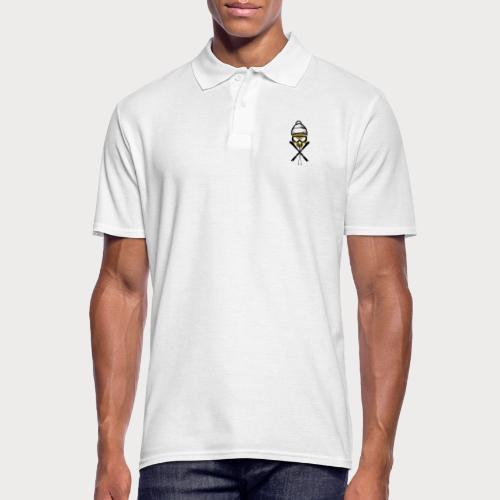 ski_skull - Männer Poloshirt