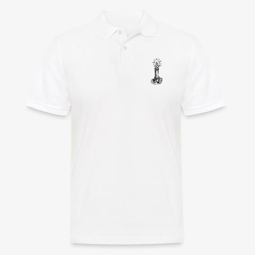 Kerze - Männer Poloshirt