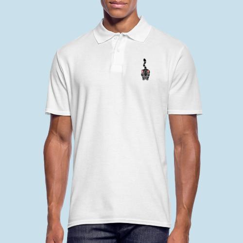 Miau Katze - Männer Poloshirt