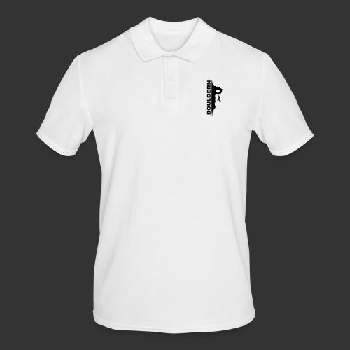 Bouldern - Männer Poloshirt