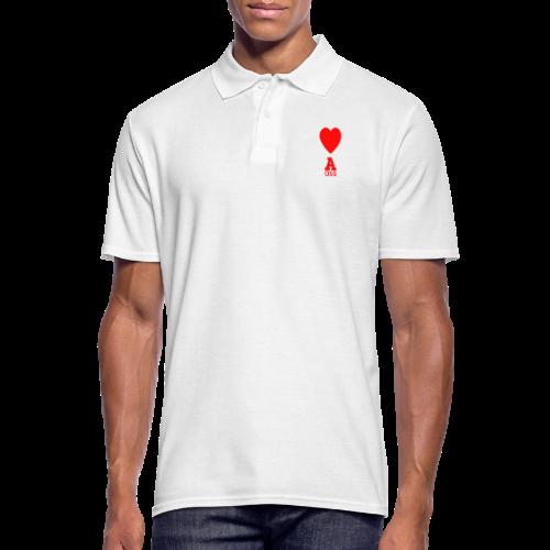 HERZ ASS - Männer Poloshirt