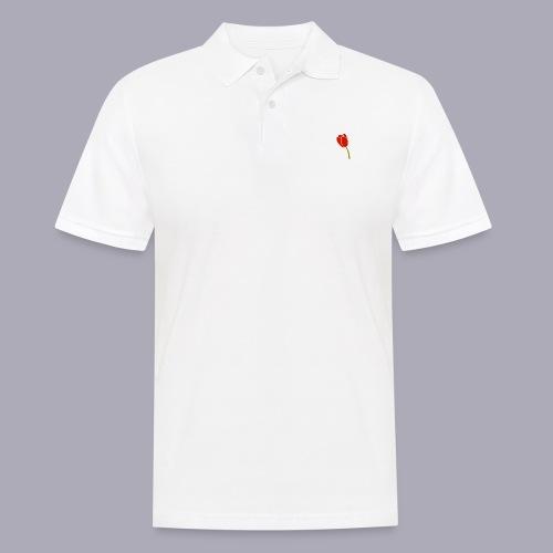 Tulip Logo Design - Men's Polo Shirt