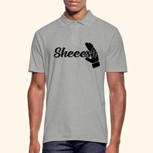 SHEEESH Yeah Cool Swag - Männer Poloshirt
