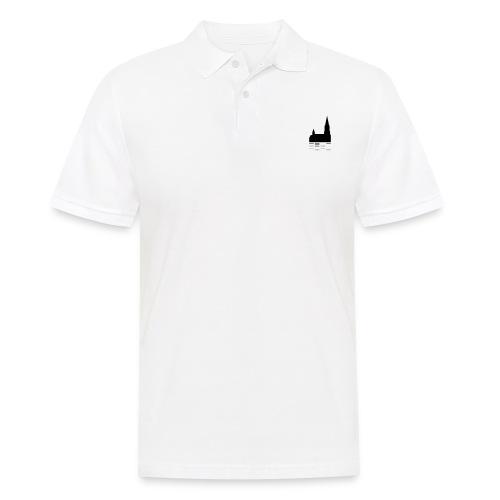 Unser Ulm Logo Black - Männer Poloshirt