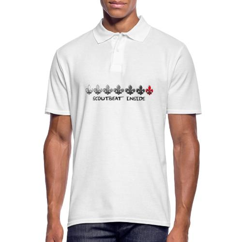 Loading Hearts - Pfadfinder Lilien - Männer Poloshirt