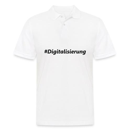 #Digitalisierung black - Männer Poloshirt