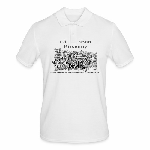 Lá na mBan black - Men's Polo Shirt