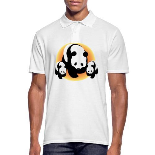 Chineese Panda's - Mannen poloshirt