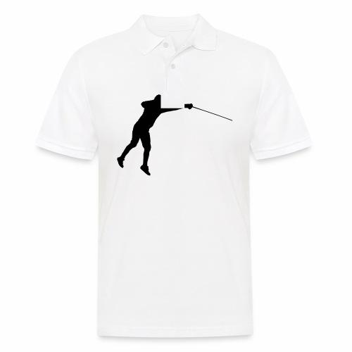Jumping Fencer - Männer Poloshirt