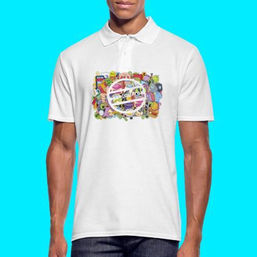 maglia logo doodle - Polo da uomo