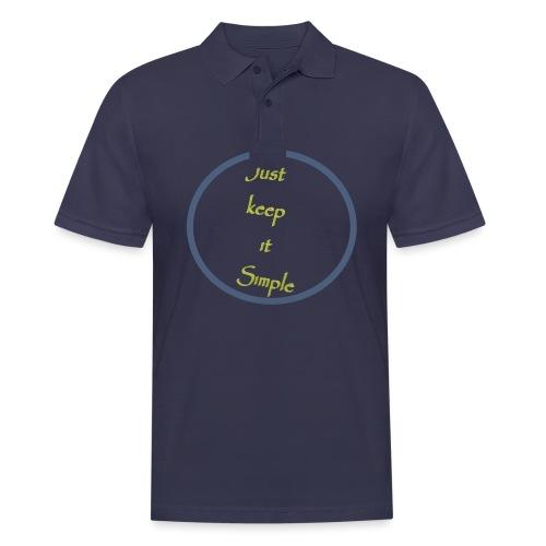 Keep it simple - Men's Polo Shirt