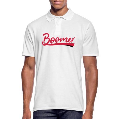 Boomer - 2 color text - diy - Miesten pikeepaita