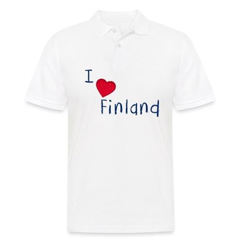 I Love Finland - Miesten pikeepaita