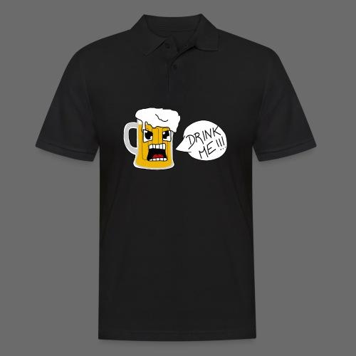 Bière - Polo Homme