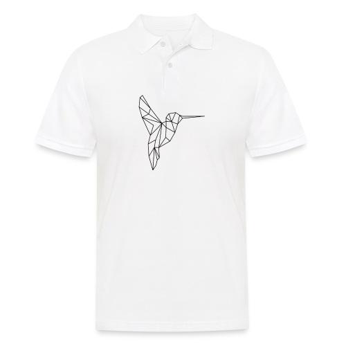 Vogel Kolibri Geometrisch - Männer Poloshirt