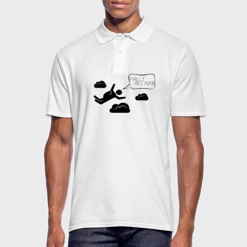 Fällt bei mir - Männer Poloshirt