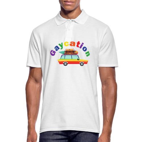 Gaycation | LGBT | Pride - Männer Poloshirt