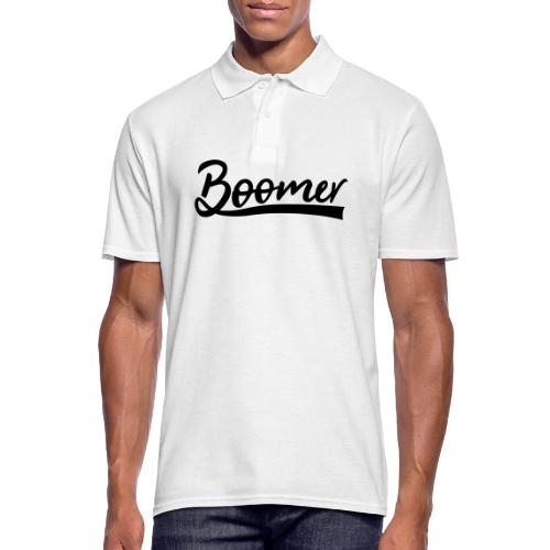 Boomer with 1 editable text color - Miesten pikeepaita