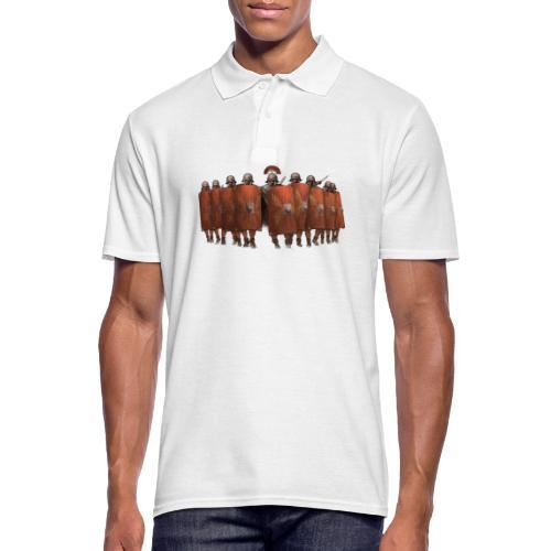 Legion (kolorowy) | Legio (colorful) - Koszulka polo męska