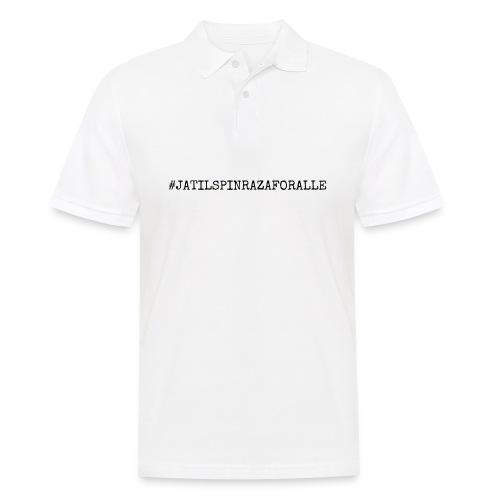 #jatilspinrazaforalle - Poloskjorte for menn