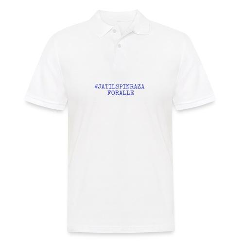 #jatilspinraza - blå - Poloskjorte for menn