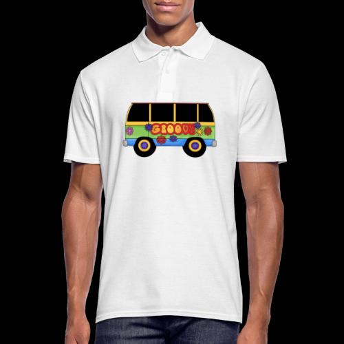 GROOVY BUS - Men's Polo Shirt