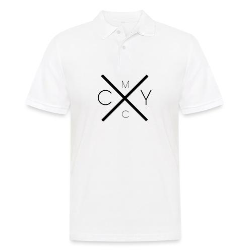 CMYC BLACK - Männer Poloshirt