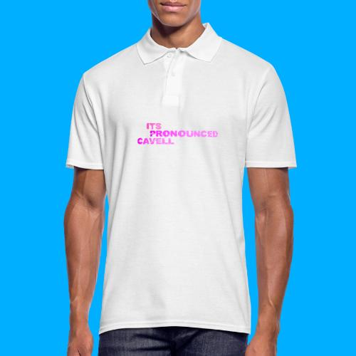 Its Pronounced Cavell Shirts - Men's Polo Shirt