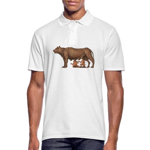 Wilczyca kapitolińska | Capitoline Wol - Koszulka polo męska