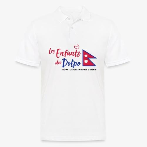 Les Enfants du Doplo - Grand Logo Centré - Polo Homme