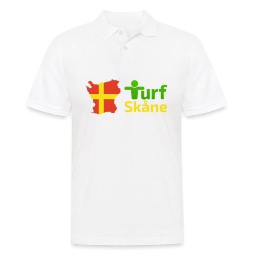 Turf Skåne Logo gul - Pikétröja herr