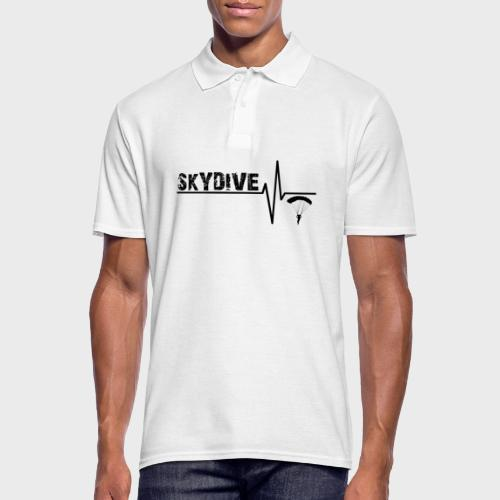 Skydive Pulse - Männer Poloshirt