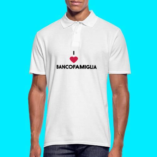 BANCOFAMIGLIA CuoreNera - Polo da uomo