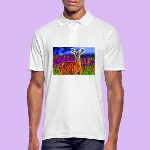 Cerbiatto con magici effetti - Polo da uomo