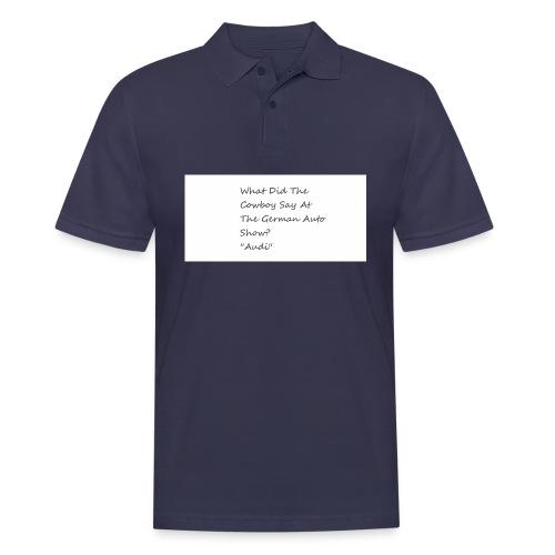 Car Joke - Men's Polo Shirt