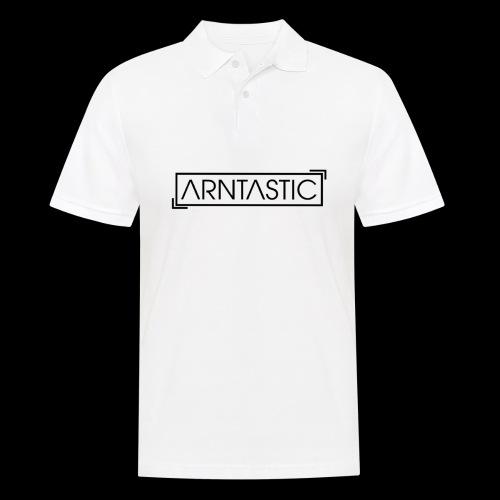 ARNTASTIC LOGO schwarz - Männer Poloshirt