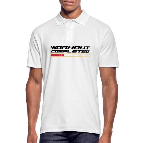 Workout Komplett - Männer Poloshirt