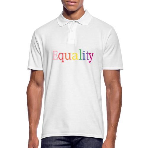 Equality | Regenbogen | LGBT | Proud - Männer Poloshirt