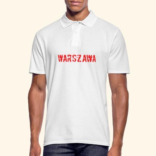 Warszawa - Männer Poloshirt