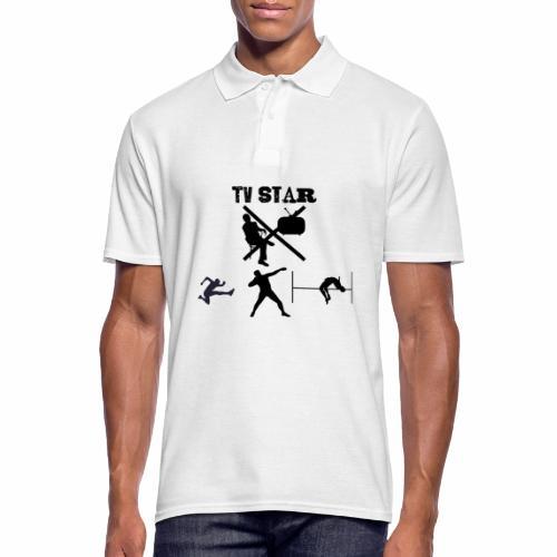TV Star - Männer Poloshirt