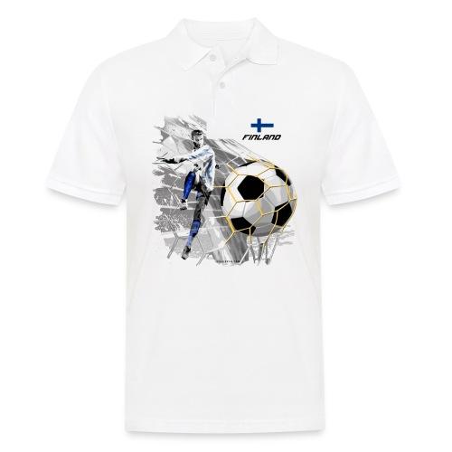 GP22F-05 FINLAND FOOTBALL PRODUCTS - Tuotteet - Miesten pikeepaita